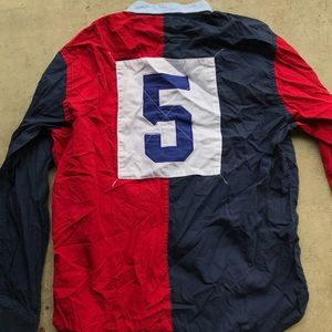 Tommy Hilfiger long sleeve shirt multi color